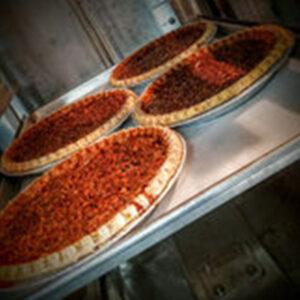 Four pies